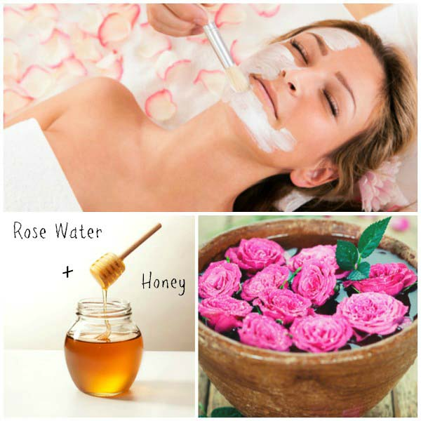 Beauty tips with Rose Petals