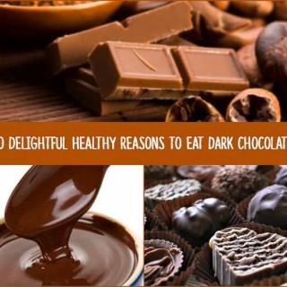 10 Delightful Healthy Reasons to Eat Dark Chocolate