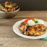 Easy Baked Jerk Chicken Low Carb. paleo, gluten free and low carb