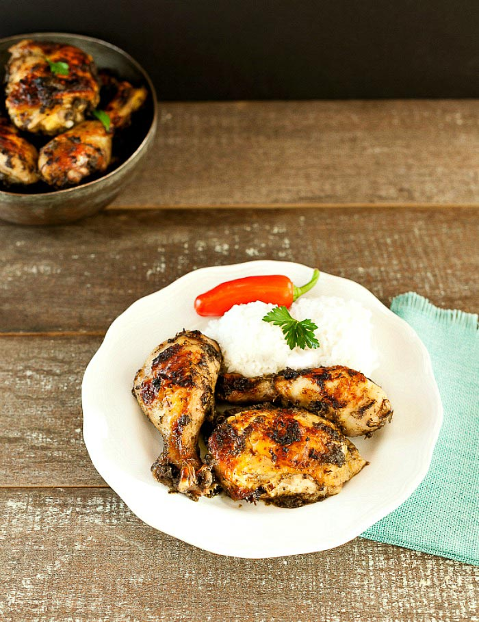 Easy Baked Jerk Chicken Low Carb & Paleo