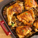 Chicken Bacon Cabbage Skillet- paleo, low carb and keto