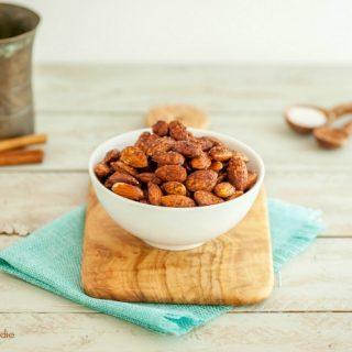 Cocoa Cinnamon Roasted Almonds