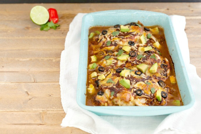 Easy Mexican Chicken Bake- Low carb, gluten free and primal