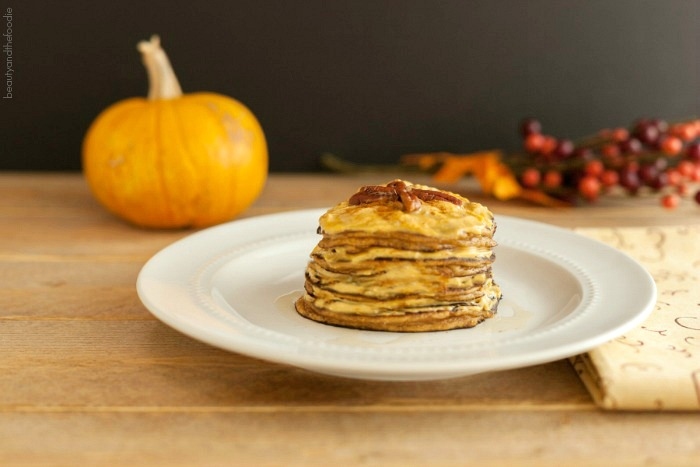 Pumpkin Cheesecake Pancakes Low Carb & Gluten Free