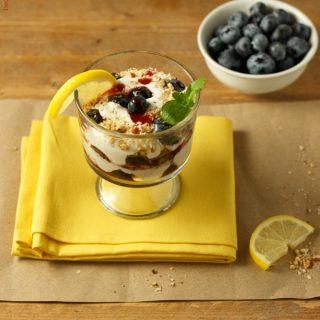 Easy Berry Lemon Cream Parfaits Low Carb