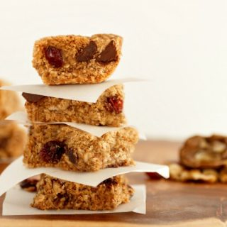 Treasure Chest Cookie Bars Paleo