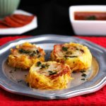 Spaghetti Squash Pizza Nests- Low carb, gluten free and primal.