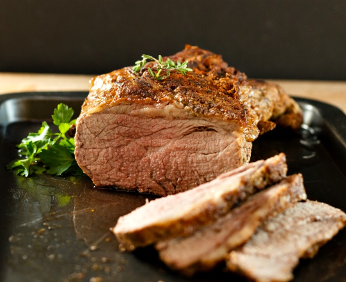 Easy One Pot Beef Roast Wine Sauce- Low Carb Paleo and gluten free.