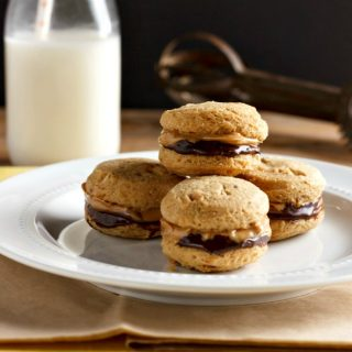 Chocolate Nut Butter Sandwich Cookies Low Carb